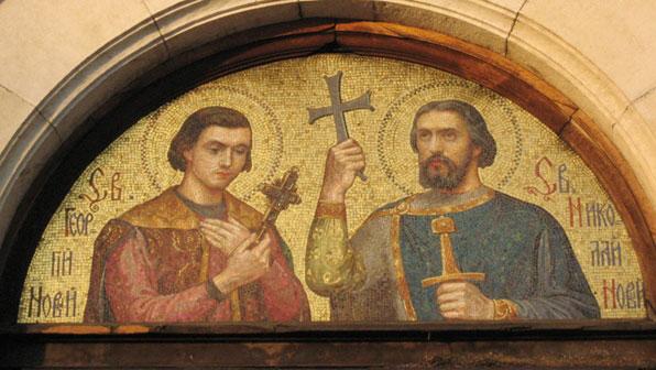 img EPIPODIUS & ALEXANDER Martyrs at Lyon