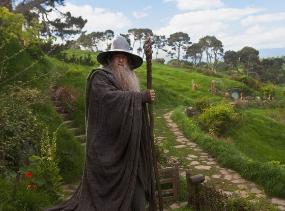 Gandalf. Photos from The Hobbit: An Unexpected Journey directed by Peter Jackson
